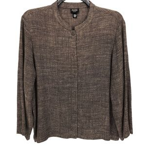 Eileen Fisher Shirt | Long Sleeve Button Up | PL